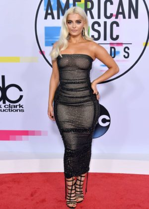 Bebe Rexha - 2017 American Music Awards in Los Angeles