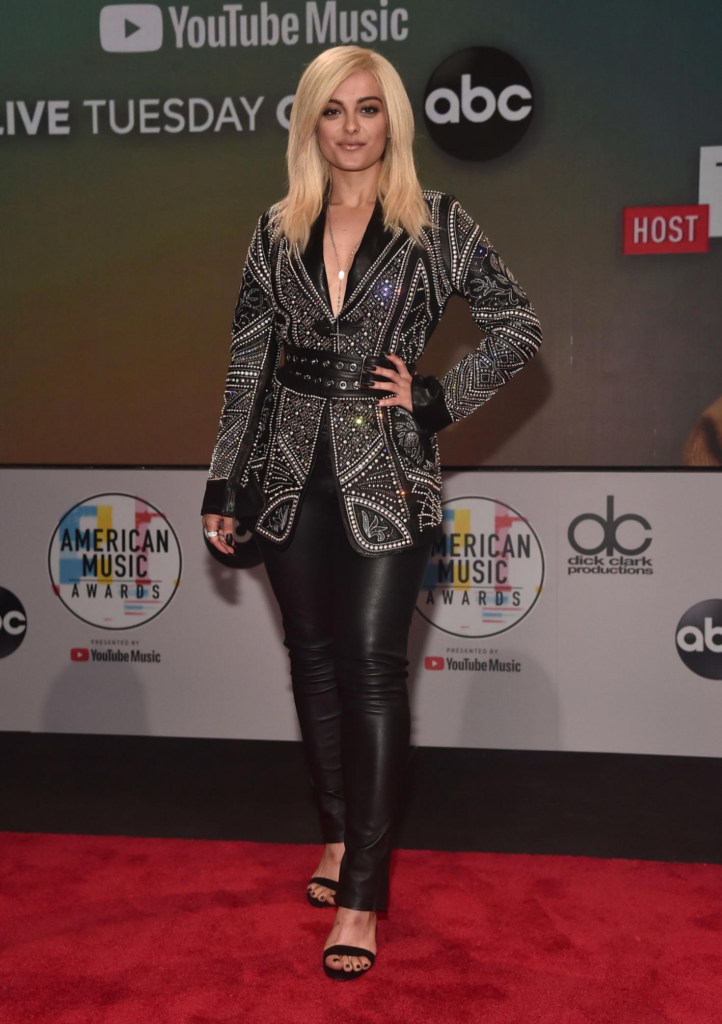 Bebe Rexha 2018 : Bebe Rexha: 2018 American Music Awards Nominations Announcement -01