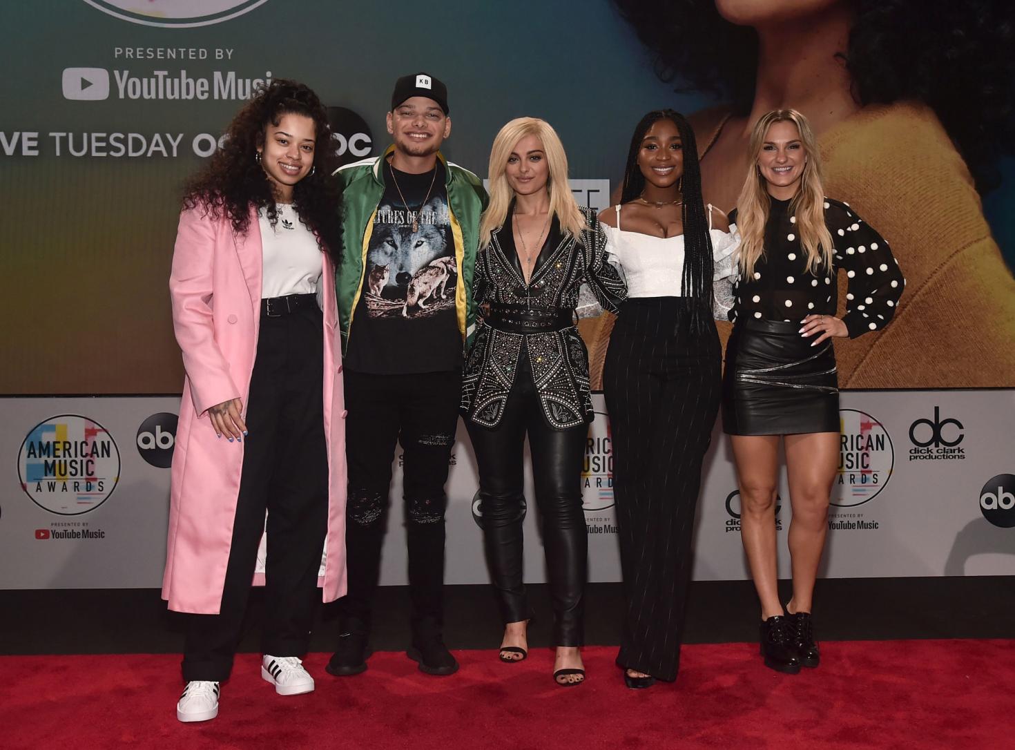Bebe Rexha 2018 : Bebe Rexha: 2018 American Music Awards Nominations Announcement -03