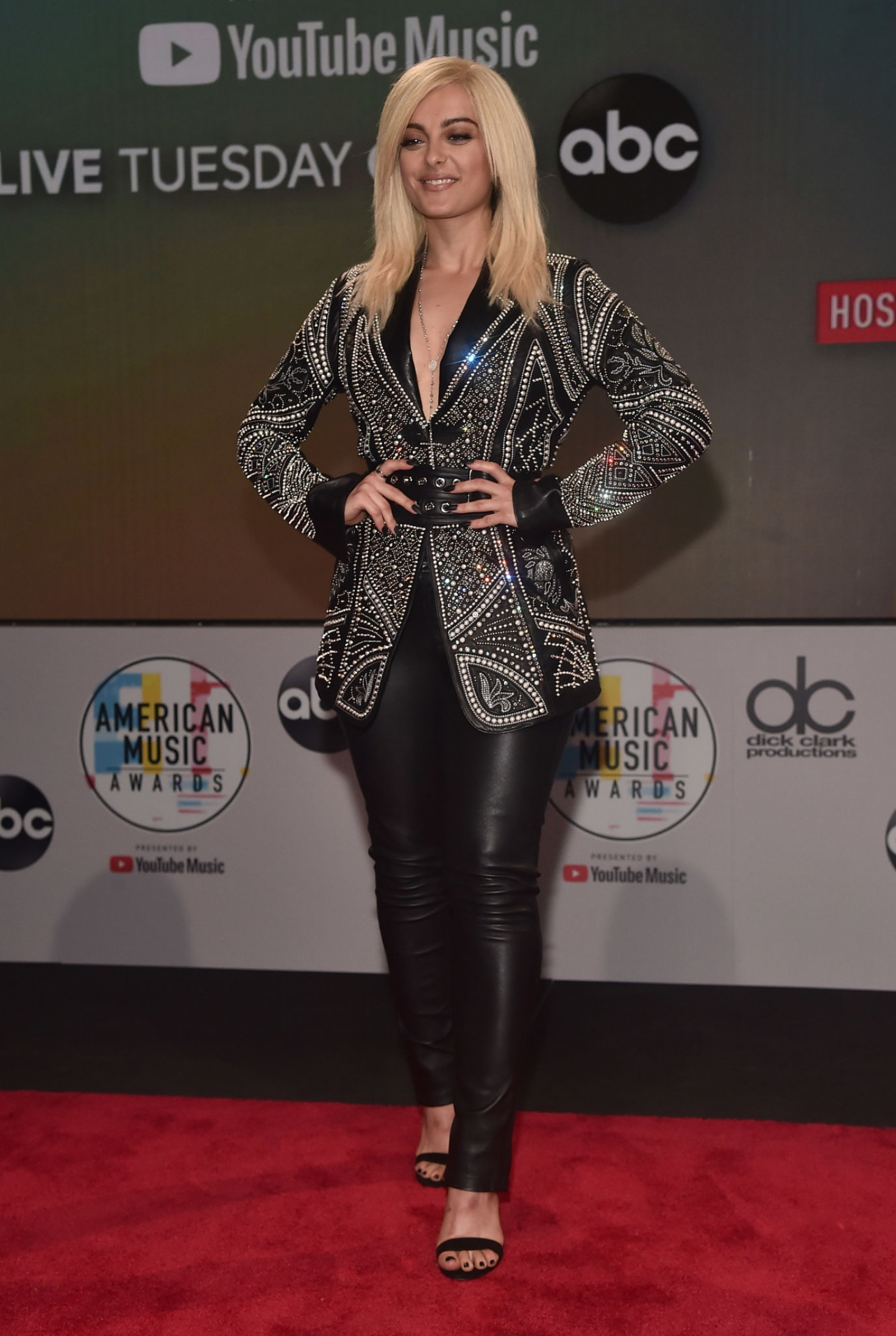 Bebe Rexha 2018 : Bebe Rexha: 2018 American Music Awards Nominations Announcement -07