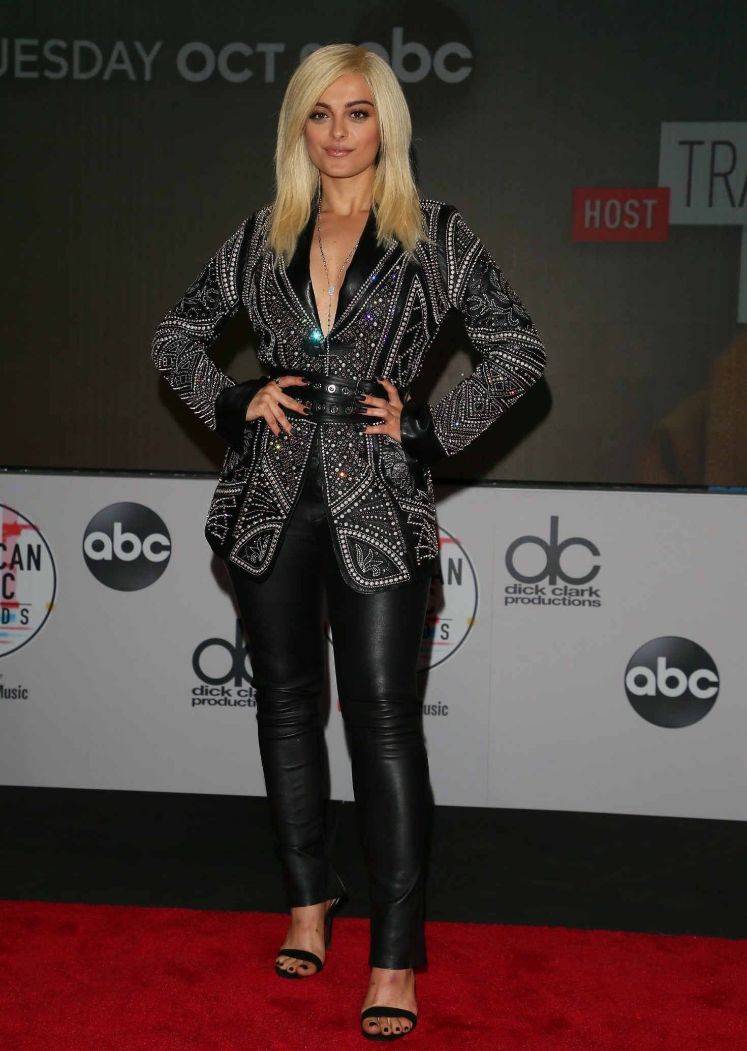 Bebe Rexha - 2018 American Music Awards Nominations Announcement in LA