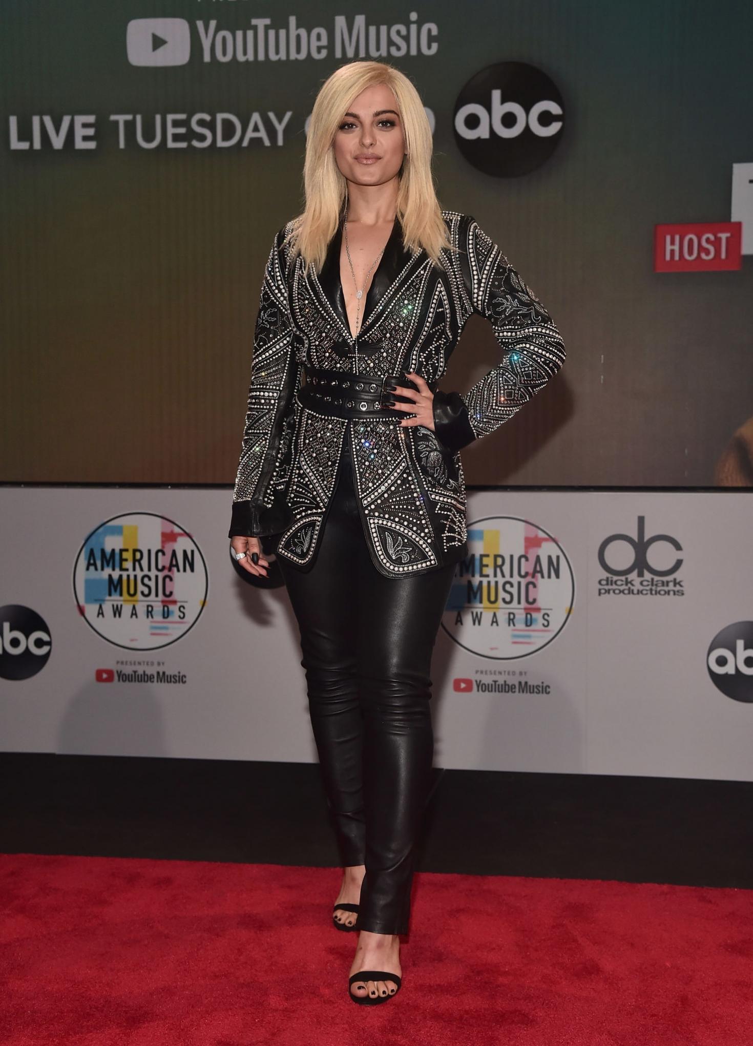Bebe Rexha 2018 : Bebe Rexha: 2018 American Music Awards Nominations Announcement -09