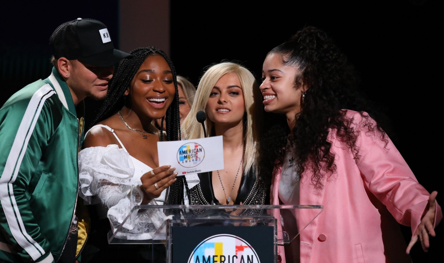 Bebe Rexha 2018 : Bebe Rexha: 2018 American Music Awards Nominations Announcement -11