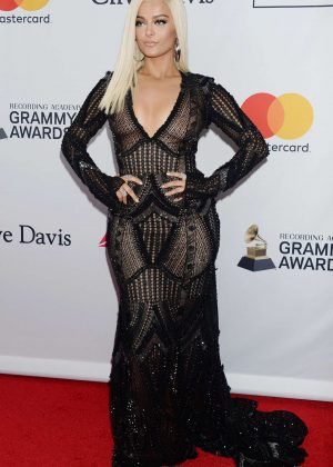 Bebe Rexha - 2018 Pre-Grammy Gala and Salute to Industry Icons with Clive Davis in NY