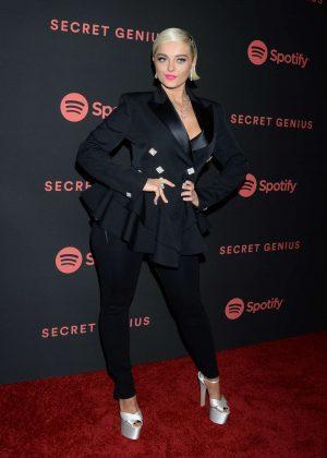 Bebe Rexha - 2018 Spotify Secret Genius Awards in Los Angeles