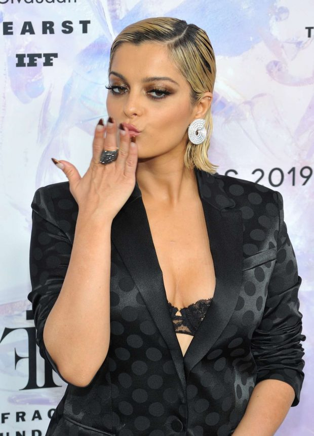 Bebe Rexha: 2019 Fragrance Foundation Awards-12
