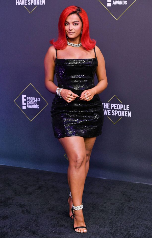 Bebe Rexha - 2020 E! People's Choice Awards in Santa Monica