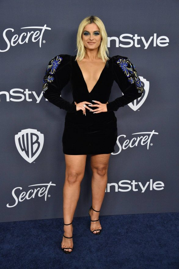 Bebe Rexha - 2020 InStyle and Warner Bros Golden Globes Party in Beverly Hills