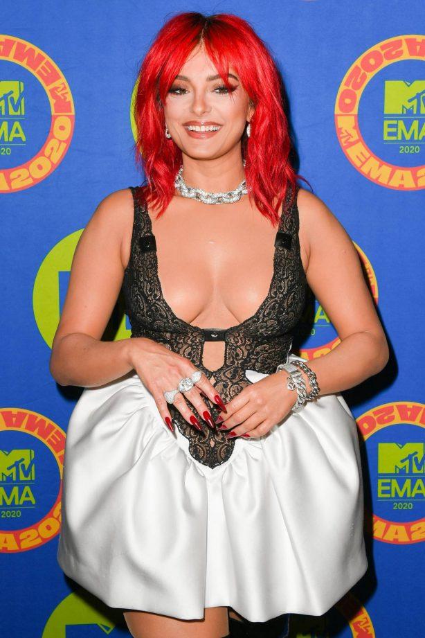 Bebe Rexha - 2020 MTV Europe Music Awards in Los Angeles