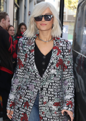 Bebe Rexha at AOL BUILD Series in London