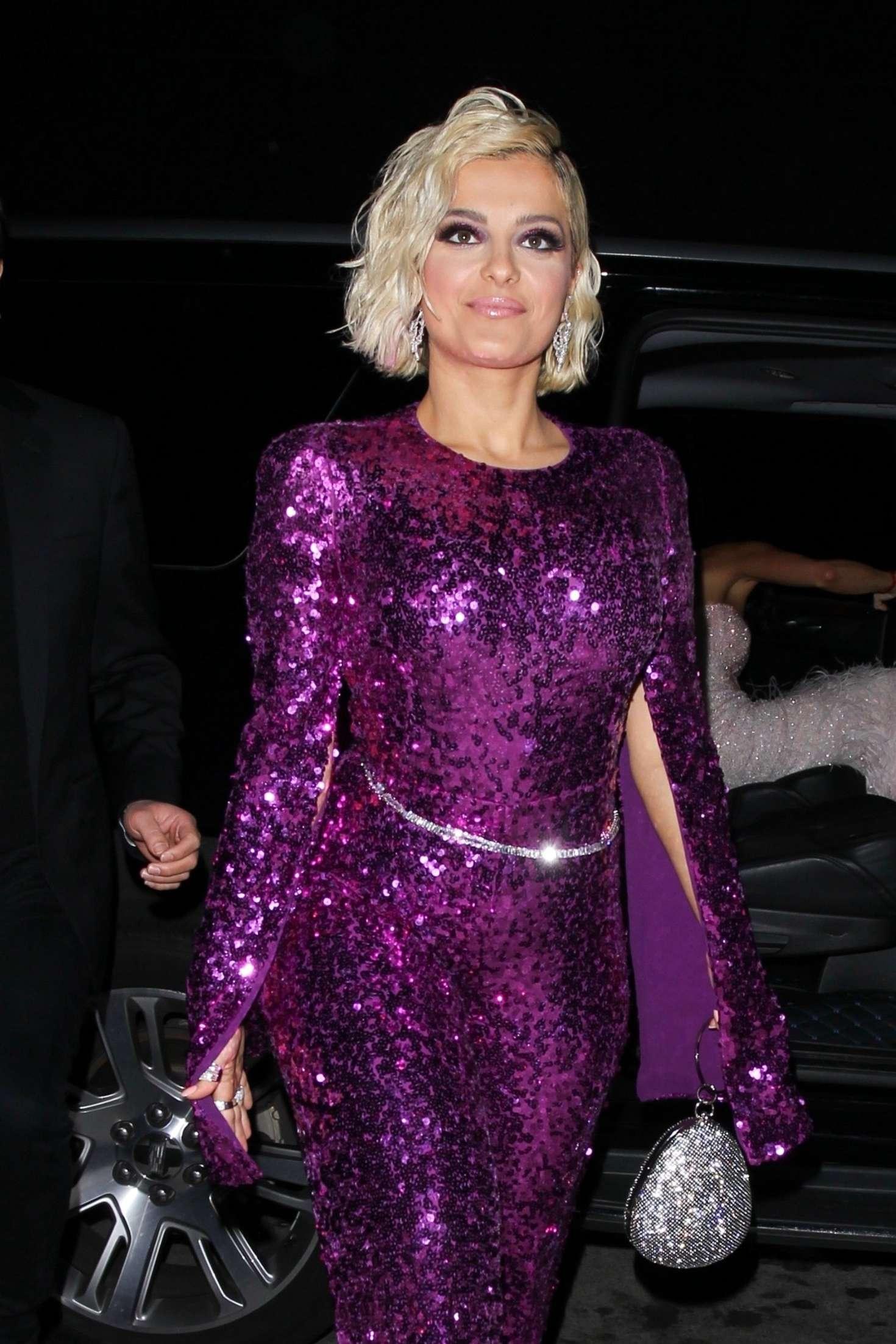 Bebe Rexha at Diana Ross 75th Birthday Bash in Hollywood