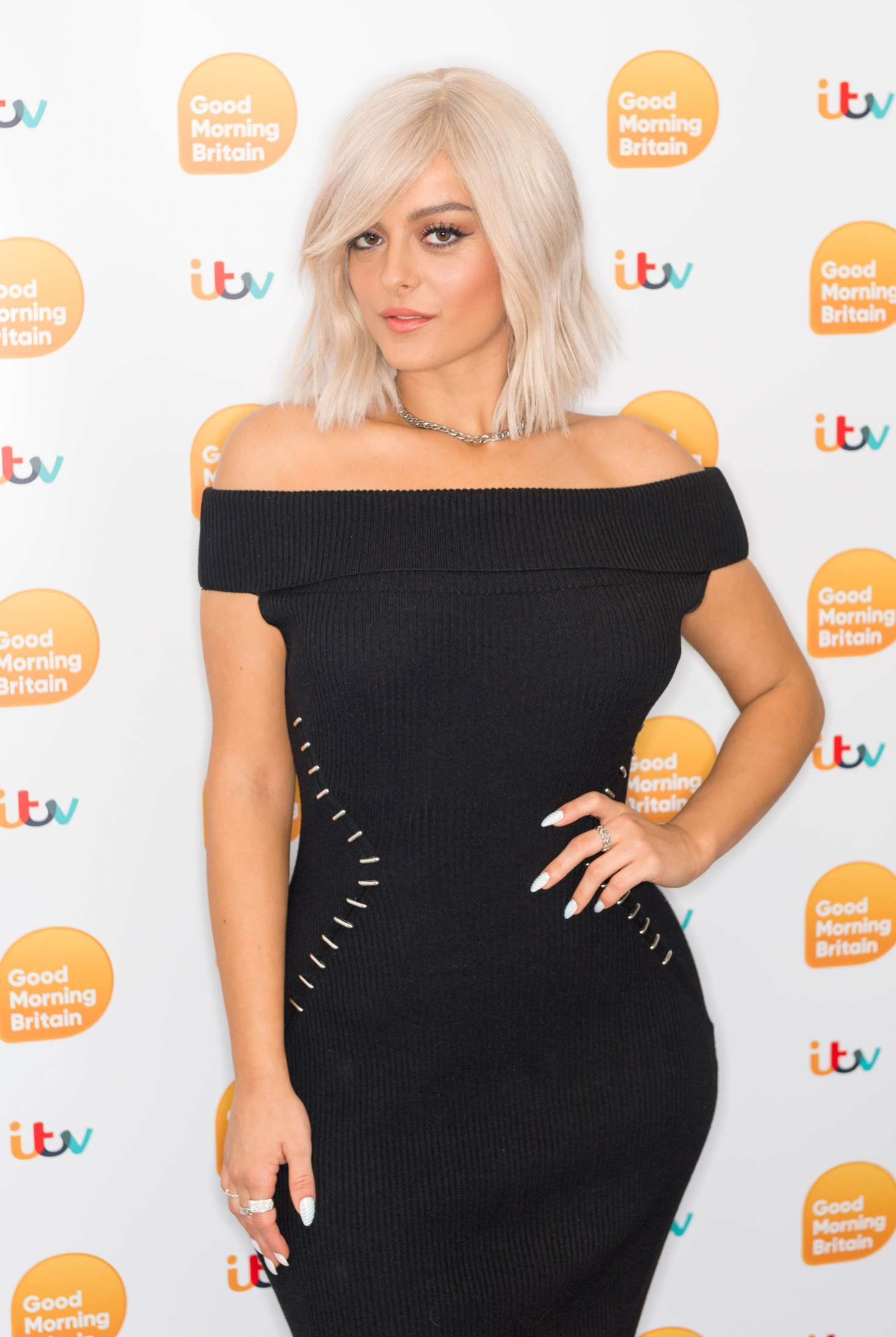 Bebe Rexha – 'Good Morning Britain' TV Show in London