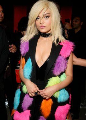 Bebe Rexha - Jeremy Scott Fashion Show in New York