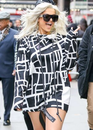Bebe Rexha - Leaving Good Morning America in New York City