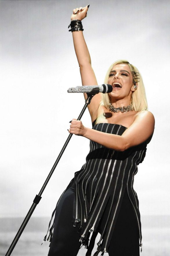 Bebe Rexha - Live during The Jonas Brothers 'Happiness Begins' Tour in New York