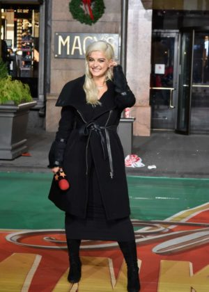 Bebe Rexha - Macy's Thanksgiving Day Parade Talent Rehearsals in NY
