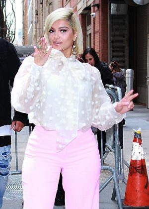Bebe Rexha - Outside 'The View' in New York City