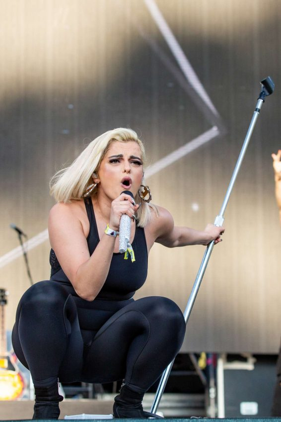 Bebe Rexha - Perform at Lands Music Festival at Golden Gate Park in San Francisco
