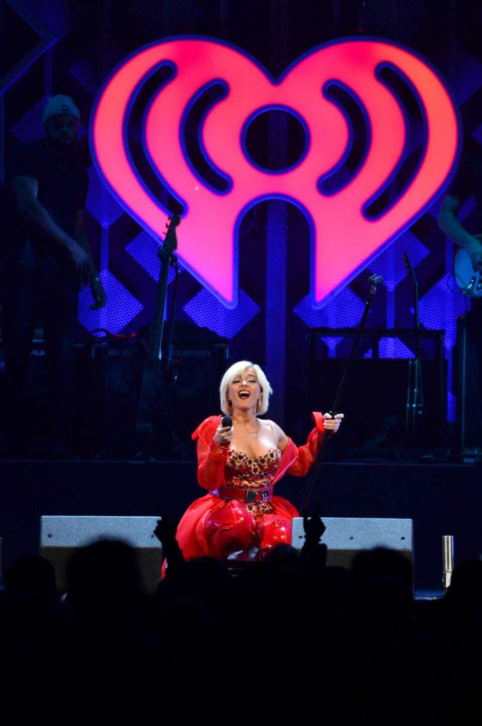 Bebe Rexha 2018 : Bebe Rexha: Performing at iHeart Radio Jingle Ball -05
