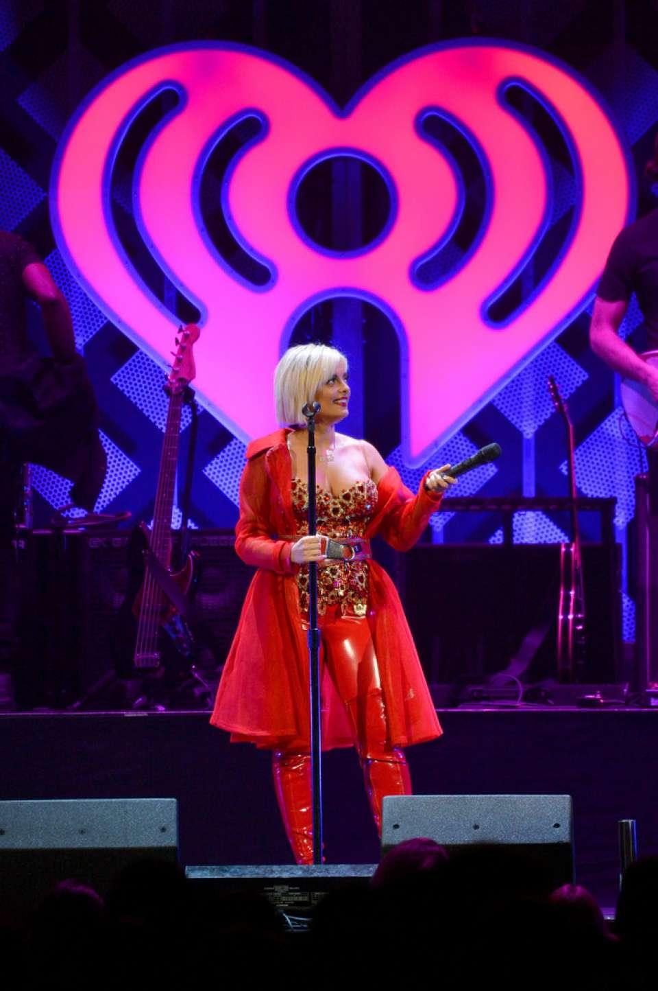 Bebe Rexha 2018 : Bebe Rexha: Performing at iHeart Radio Jingle Ball -08