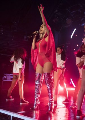 Bebe Rexha - Performing live at G-A-Y club in London
