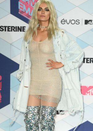 Bebe Rexha: Performs at 2016 MTV Europe Music Awards -10