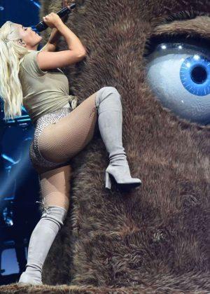 Bebe Rexha: Performs at 2016 MTV Europe Music Awards -11