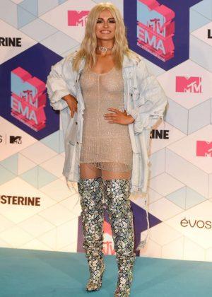 Bebe Rexha: Performs at 2016 MTV Europe Music Awards -16