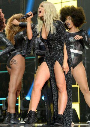 Bebe Rexha: Performs at 2016 MTV Europe Music Awards -18