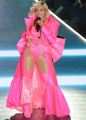 Bebe Rexha - Performs at 2018 Victoria's Secret Fashion Show in NYC
