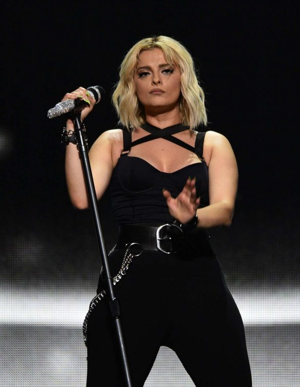 Bebe Rexha - Performs at the ORACLE arena in Oakland