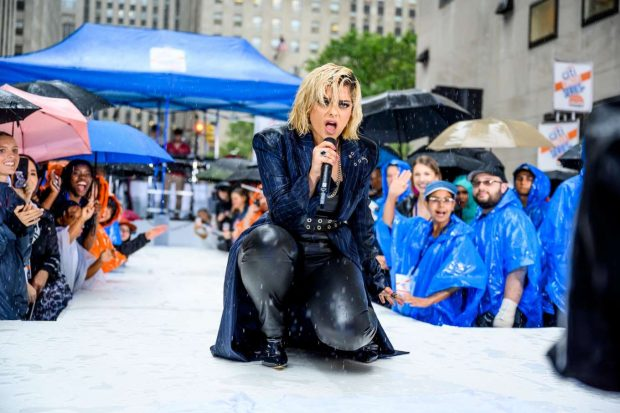 Bebe Rexha - Performs on NBC's Today Show in New York