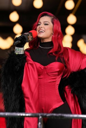Bebe Rexha - Pictured at Macy's Thanksgiving Day Parade New York City