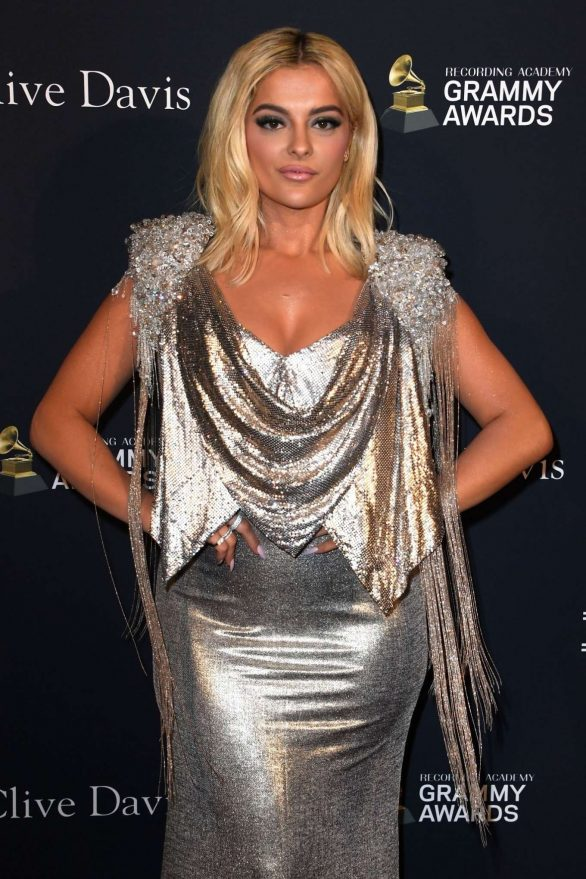 Bebe Rexha - Recording Academy and Clive Davis pre-Grammy Gala in Beverly Hills