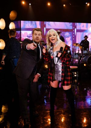 Bebe Rexha - 'The Late Late Show with James Corden' in Los Angeles