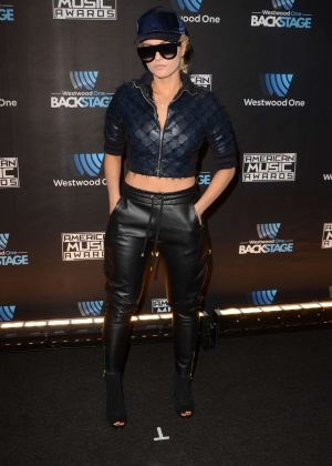 Bebe Rexha - Westwood One Backstage at The American Music Awards Day 2 in LA