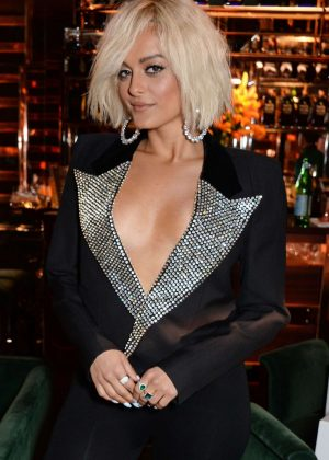 Bebe Rexha - 'Women In Harmony' Dinner at Casa Cruz in London