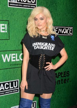 Bebe Rexha - Zedd's Welcome! ACLU Benefit Concert in Los Angeles