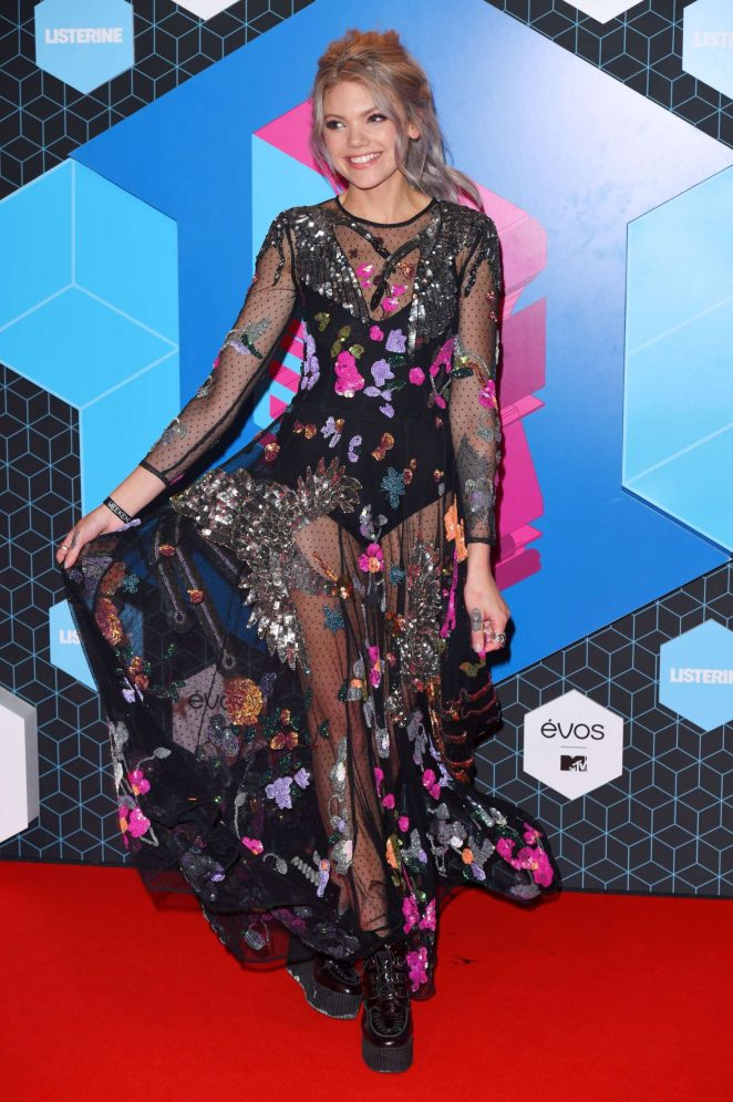 Becca Dudley - 2016 MTV Europe Music Awards in Rotterdam