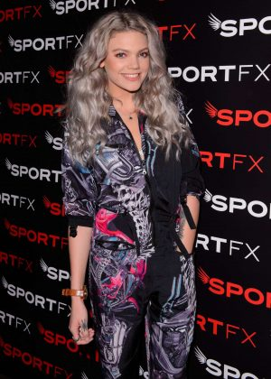 Becca Dudley - SPORTFX Cosmetic and Sports Launch Party in London