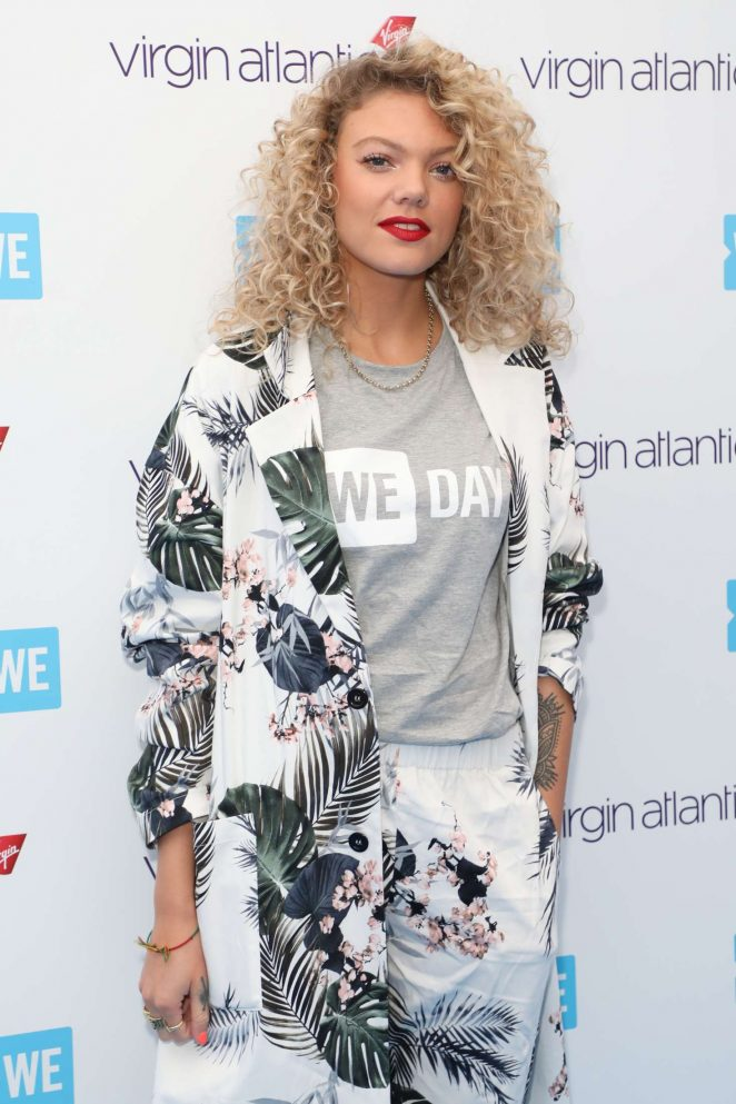 Becca Dudley - WE Day 2018 London