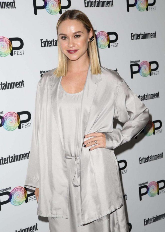 Becca Tobin - Entertainment Weekly PopFest in Los Angeles