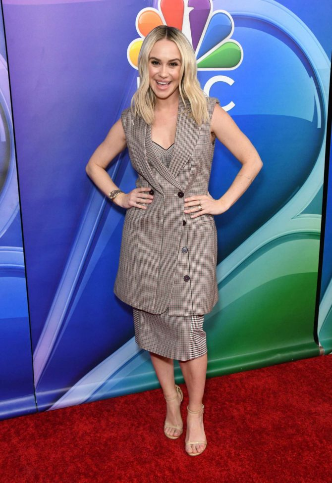 Becca Tobin - NBC LA Midseason Press Day in Los Angeles