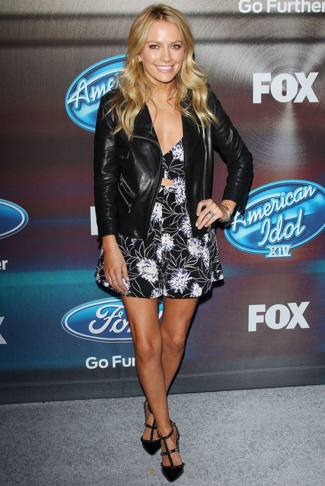 Becki Newton - 'American Idol XIV' Finalist Party in LA