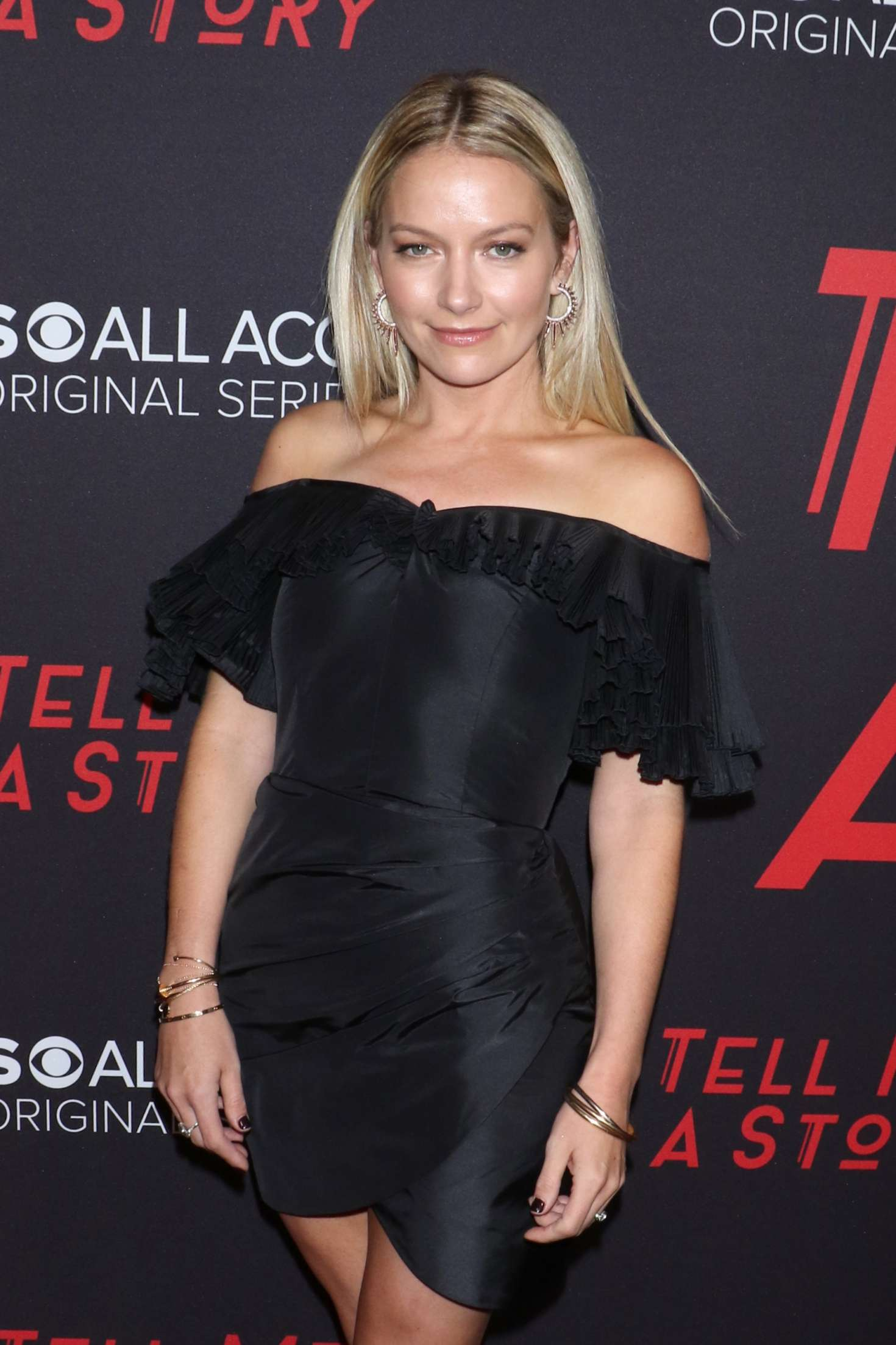 Becki Newton - 'Tell Me A Story' Premiere in New York