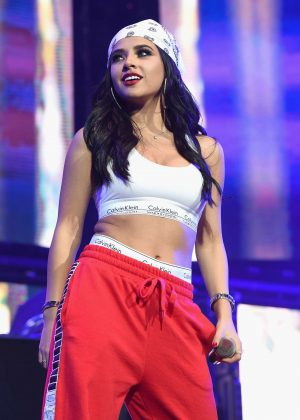 Becky G - Calibash Show at Staples Center in Los Angeles