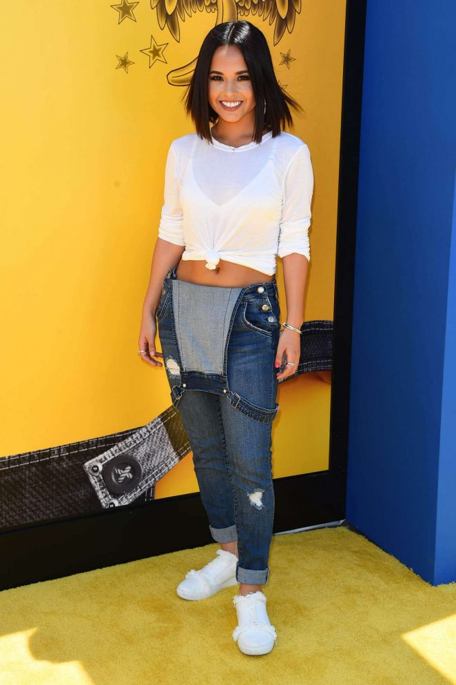 Becky G - 'Despicable Me 3' Premiere in Los Angeles