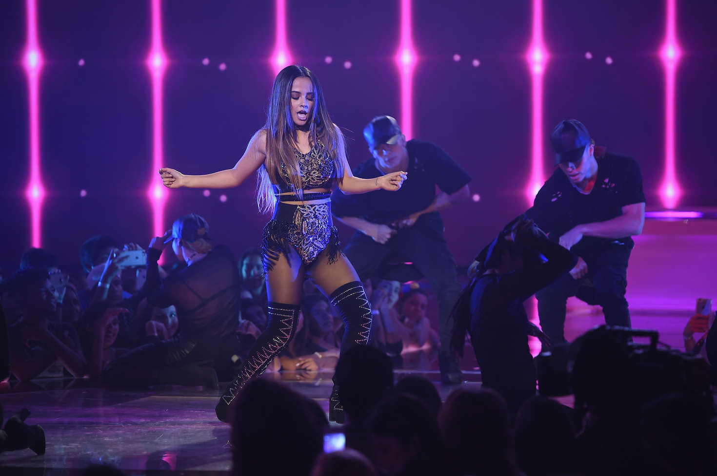 Becky G – First Live Episode of Univision Networks La Banda in Miami