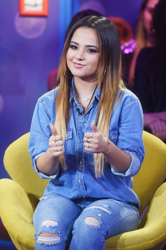 Becky G - MTV's 'Girl Code Live' in NYC