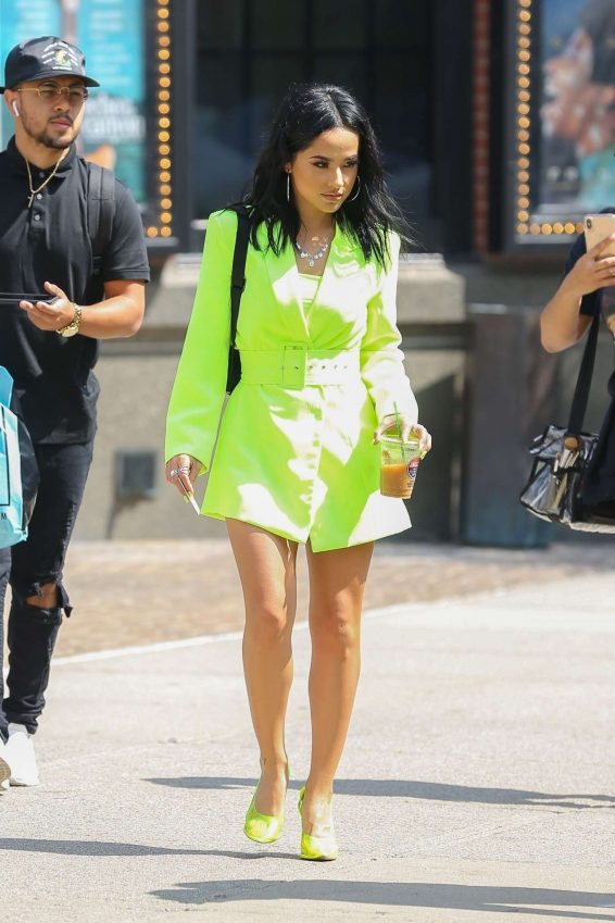 Becky G - out in NYC